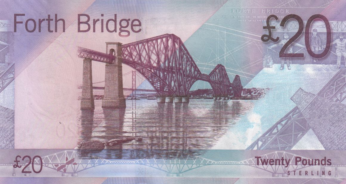 Scotland 20 Pounds Sir Walter Scott - Bridge - 2009 - UNC - P.126