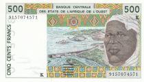 Sénégal 500 Francs homme 1991 - Sénégal