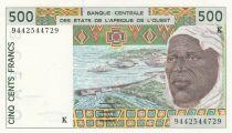 Sénégal 500 Francs homme 1994 - Sénégal