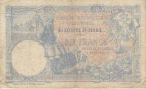 Serbie 10 Dinara Paysan - Femme et instrument