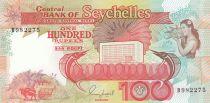 Seychelles 100 Rupees Espadons, Femme - 1989