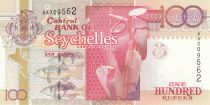 Seychelles 100 Rupees Orchids - Turtle 1998