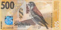 Seychelles 500 Rupees, Crécerelle - 2016