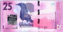 Seychelles New1.2016 25 Rupees, Shama des Seychelles - 2016