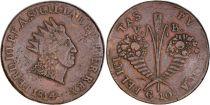 Sicily 10 Grani Ferdinand III - Cornucopias  - 1814