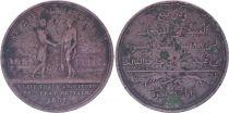 Sierra Leone 1 Penny Token - Abolition of Slavery by Great Britain - 1807 (1814) - Tn.1.1 - TB+