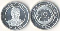 Sierra Leone 10 Leone - 1996