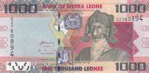 Sierra Leone 1000 Leones Bai Bureh - Parabole 2013