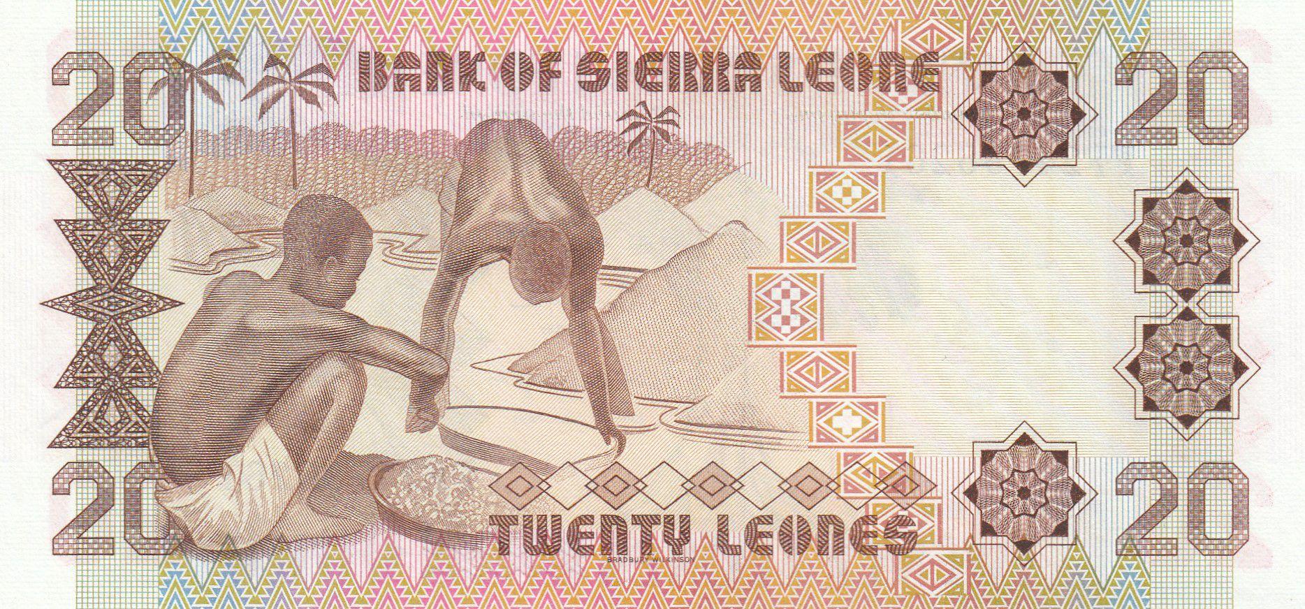 Sierra Leone 20 Leones - S. Stevens - 1984 - Neuf - P.14b