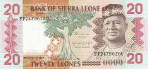 Sierra Leone 20 Leones - S. Stevens - 1984 - U8NC - P.14b