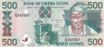 Sierra Leone 500 Leones 1995 - Kai Londo, Bateaux