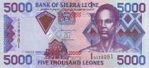 Sierra Leone 5000 Leones Sengbe Pieh - Barrage - 2003