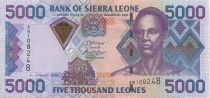 Sierra Leone 5000 Leones Sengbe Pieh - Barrage - 2006
