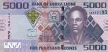 Sierra Leone 5000 Leones Sengbe Pieh - Barrage - 2013
