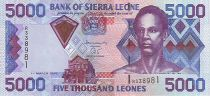 Sierra Leone 5000 Leones Sengbe Pieh - Dam - 2003