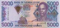 Sierra Leone 5000 Leones Sengbe Pieh - Dam - 2006