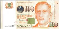 Singapore 100 Dollars E.Y. bin Ishak - Youth - 2018 - UNC - P.50i