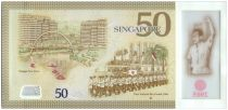 Singapore 50 Dollars E.Y. bin Ishak - 50 years of Nation-Building - 2015