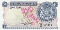Singapour 1 Dollar 1972 p1d