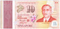 Singapour New1.2015 10 Dollars, E.Y. bin Ishak - 50 ans de l\'indépendance - 2015