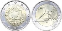 Slovakia 2 Euro 30 years of European Flag - 2015
