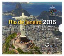 Slovakia BU.2016 Proof Set of Olympics Games Rio 2016 - 9 coins