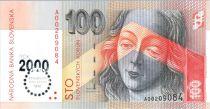 Slovaquie 100 Korun Madonnna Majstra Pavla - 2000