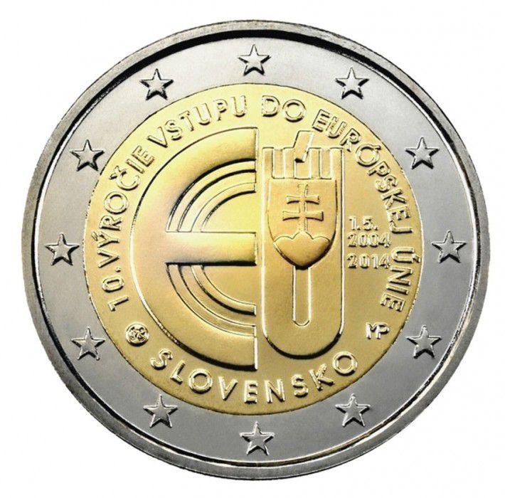 Slovaquie 2 Euro, Entrée dans l\'Union Européenne 2004 - 2014