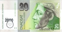 Slovaquie 20 Korun Prince Pribina - 2000
