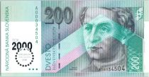 Slovaquie 200 Korun Anton Bernolak - 2000