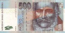 Slovaquie 500 Korun Ludovit Stur