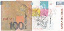 Slovenia 100 Tolarjev  R. Jakopic - 2003