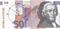 Slovenia 50 Tolarjev Jorge Vega - Planets - 1992