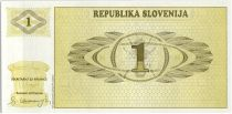 Slovénie 1 Tolar, Montagne - 1990 - P.1 - Neuf AH