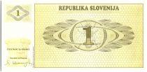 Slovénie 1 Tolar, Montagne - 1990 - P.1 - Neuf AL