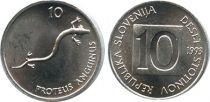 Slovénie 10 Stotinov - Salamandre - 1993
