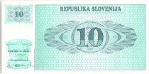Slovénie 10 Tolarjev, Montagne - 1990 - P.4 - Neuf BK