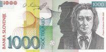 Slovénie 1000 Tolarjev - F. Preseren - Poème - 2003