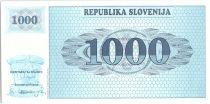 Slovénie 1000 Tolarjev, Montagne - 1991 - P.9 a - Neuf AJ