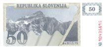 Slovénie 50 Tolarjev 1990 - Montagne