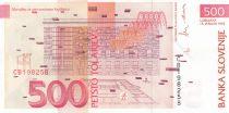 Slovénie 500Tolarjev - Joze Plecnik 1992 - Neuf