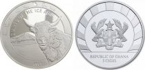 Somalia 5 Cedis Aurochs - Oz Silver 2021