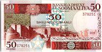 Somalie 50 Shillings - Ville de Walled - Animaux -1983