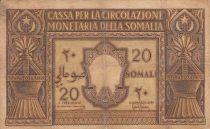 Somalie Italienne 20 Somali - 1950 Série A 013 - P.14 - TB