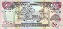 Somaliland 100 Shillings Immeuble - Dock, moutons