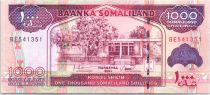 Somaliland 1000 Shillings Immeuble - Dock, moutons - 2011