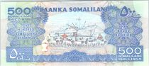 Somaliland 500 Shillings Immeuble - Dock, moutons - 2011