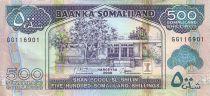 Somaliland 500 Shillings Immeuble - Dock, moutons