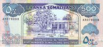 Somaliland 500 Shillings Immeuble - Dock, moutons