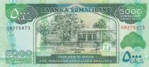 Somaliland 5000 Shillings Immeuble - Dromadaires - 2015 - Neuf - P.21
